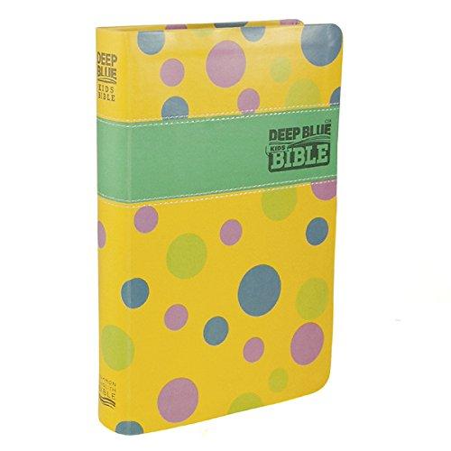 CEB Common English Bible Deep Blue Kids Bible Polka Dot Yellow (Kids Starting Bible)