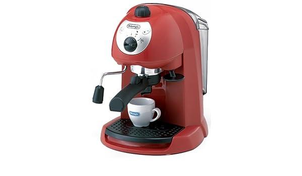 Amazon.com: DeLonghi espresso / cappuccino Maker-Red EC200N ...