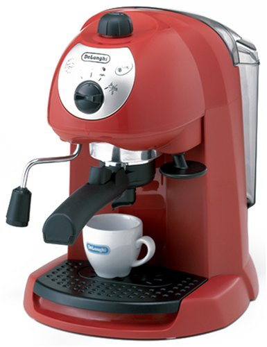 DeLonghi espresso / cappuccino Maker-Red EC200N-R by DeLonghi