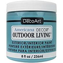 Decoart DECADOL-36.15 Outdoor Living 8Ozturquoisesky Americana Outdoor Living 8oz Turquoise Sky