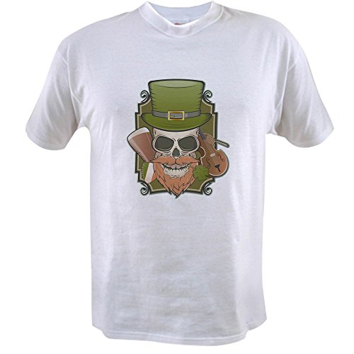 Truly Teague Value T-Shirt St Patricks Irish Skull - (Ireland Value T-shirt)