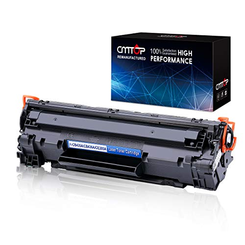 CMTOP 85A CE285A Compatible Toner Cartridge Replacement for HP 85A CE285A Toner, High Yield, use in HP LaserJet Pro P1102W P1109W P1102 P1109 M1212NF M1217NFW P1100 M1130 M1132 M1138 M1139 M1219nf MFP (Hp Laserjet Cartridge 85a)