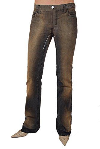 FORNARINA jeans POUR FEMMES FLIRT Bit denim marron W27; W28 #1
