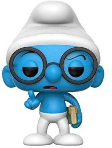 Funko Pop Animation Brainy Smurf Toy 20122 Accessory Toys /& Games
