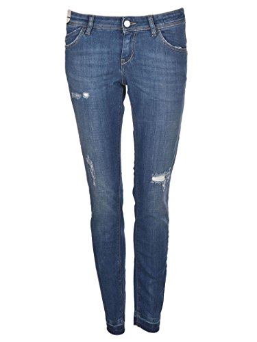 Re Blu Cotone P3022741tyblue Donna Hash Jeans rn1pOrf