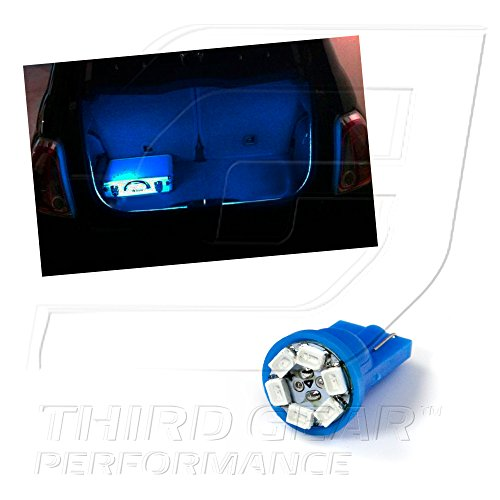 Optix TGP T10 Blue 6 LED SMD Trunk Wedge Light Bulb Single 2000-2011 Subaru Legacy (ALL)