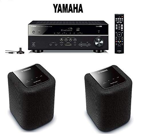 Yamaha Bluetooth Audio & Video Component Receiver Black  + P