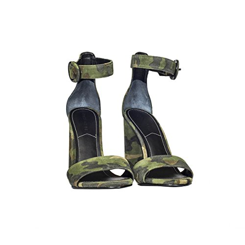 Kendall and Kylie Femme KKGISELLE1211MILITARY Multicolore Cuir Sandales