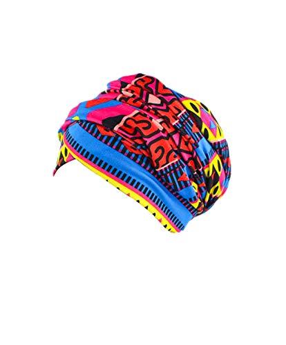 - Women Turban Hat Head Wrap - Multi Colour Black African Jersey Magic Headband Turbans Headwrap Tube Scarf Tie Hijab For Hair Muslim Bohemian Boho Chemo Cap