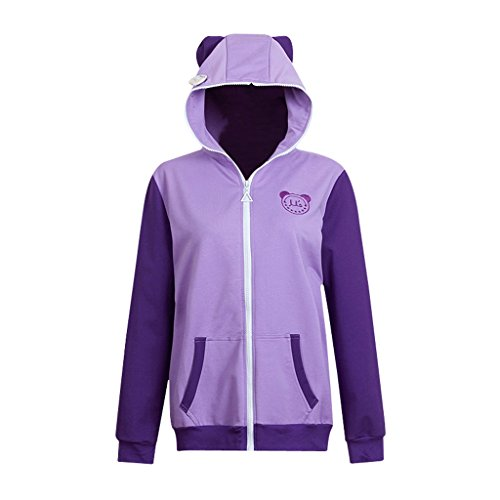 springcos Love Live Zippered Hoodie Animal Women Cosplay Costumes Nozomi Tojo