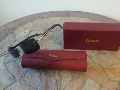 Cartier Glasses (Cartier Giverny Limited Edition (wood))