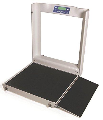 (Medline MDR1000WHC Digital Bariatric Wheelchair Scale, Latex Free)