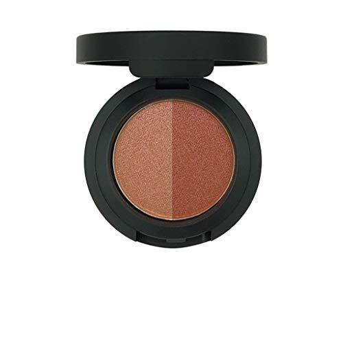 GoodLock Hot!! 12 Colors Fashion Double Colors Glitter Eyeshadow Palette Ladies Powder Eye Shadow Pearl Metallic Makeup ()