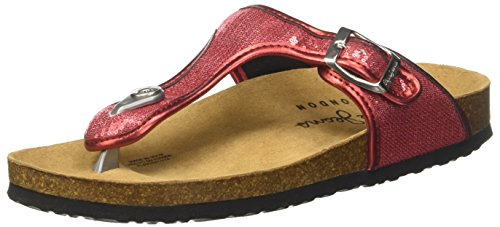 Jeans Sequins salsa Mujer Rojo Mules Oban Pepe ad7wOxqPq