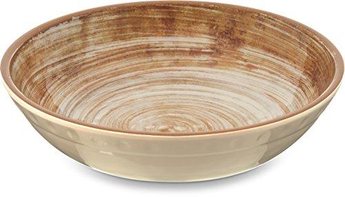(Carlisle 5401917 Mingle Melamine Cereal Bowl, 35.5 oz, Copper)