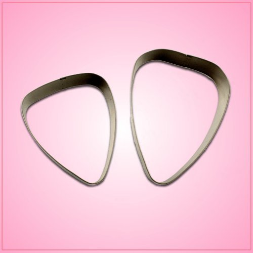 Guitar Pick Cookie Cutter 3 inch Guitar Pick aluminum