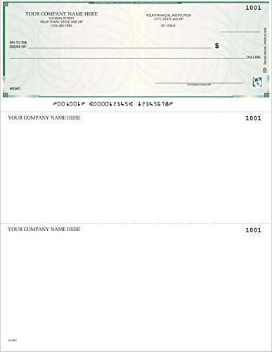 CheckSimple Laser Business Checks, High Security - Compatible with QuickBooks/Quicken (250 Qty) - ()