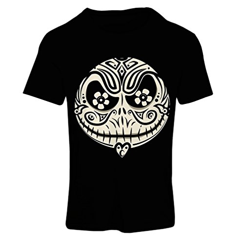T Shirts for Women The Skull Face -The Nightmare - Scary Halloween Night (Large Black Multi Color)]()