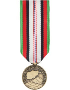 ML-M1172, Afghanistan Campaign Medal (Resized) Mini Medal MEDALS