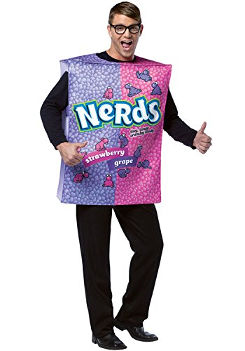 Nestle Nerds Box Costume - One Size - Chest Size (Nerd Costume Ideas)