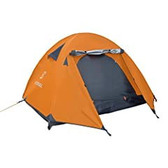 The Winterial 3 Person Camping Tent With Carry Bag is perfect for anyone who enjoys time out in the great outdoors. This tent is perfect for Backpacking, Hiking, Camping or any other outdoor adventure you want to embark on . It's lightweight ...