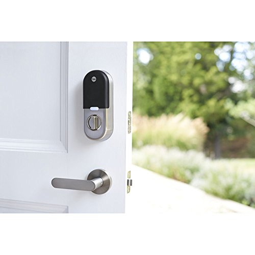 Yale Deadbolt Lock with Nest Connect-(Satin Nickel), Silver by Yale (Image #4)
