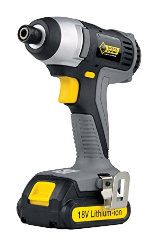 Steel Grip 2504678 18V 0.25 in. Single Sleeve Keyless Cordless Impact Driver