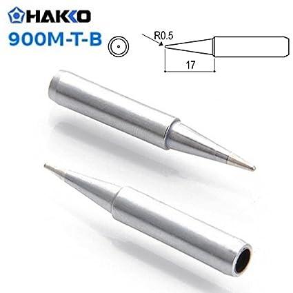 Punta soldador Hakko 0,5mm cónica 900M-T-B