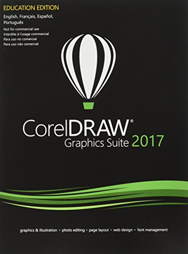CorelDRAW Graphics Suite 2017 for PC - Education Edition (Old Version)