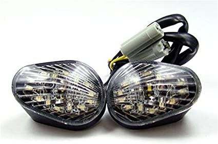 Areyourshop Clignotants pour Ya-ma-ha YZF R6 R6S Montage encastr/é 2003-2007