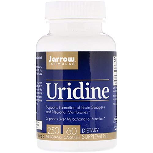 Jarrow Formulas, Uridine, 250 mg, 60 Capsules