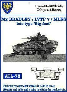 Amazon.com: friulmodel atl79 1: 35 m2 Bradley/LVTP 7/MLRS ...