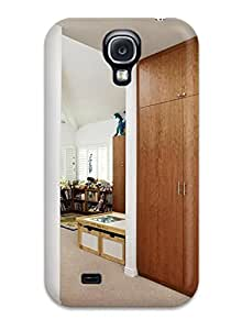 Brand New S4 Defender Case For Galaxy (white Contemporary Kid8217s Bedroom With Wood Closet 038 Colorful Coat Hooks)