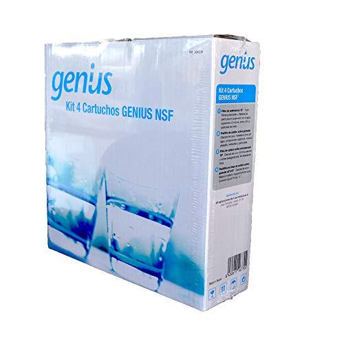 ATH - Recambios osmosis Genius NFS - Cartucho Superior Conexion Directa. Antibacterias 304230