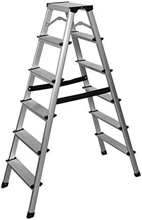 Aluminio Escalera – Escalera 6 Peldaños: Amazon.es: Bricolaje y herramientas