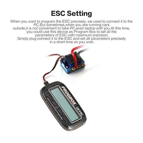 Wikiwand SKYRC SK-300046 PROGBOX ESC Program Box RC Motor Tester Lipo Battery Monitor by Wikiwand (Image #4)