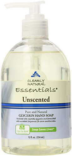 Clearly Natural Glycerine - Clearly Natural Liquid Glycerine Soap, Unscented, 12 Ounce (Pack of 2)