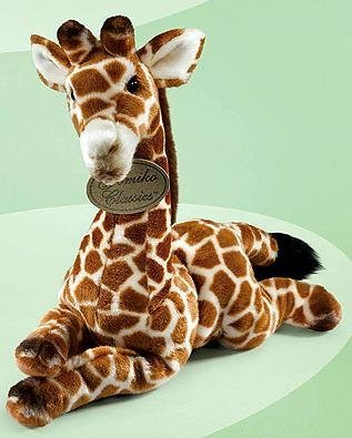 Yomiko Giraffe 15 Plush Realistic Stuffed Animal By Russ Berrie by Russ Berrie