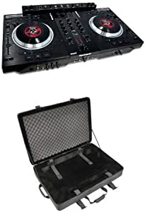 DJ CONTROLLERS WITH VINYL AND MOTORIZED PLATTERS