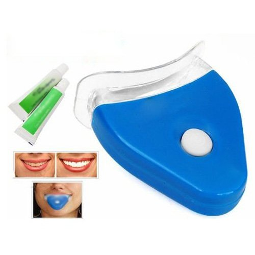 SODIAL (TM) White Teeth dents blanchisseur Blue Kit lampe de blanchiment