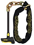Onguard Beast Chain Lock with X2 Steel Bar Lock (Black, 140 cm x 11 mm) by OnGuard