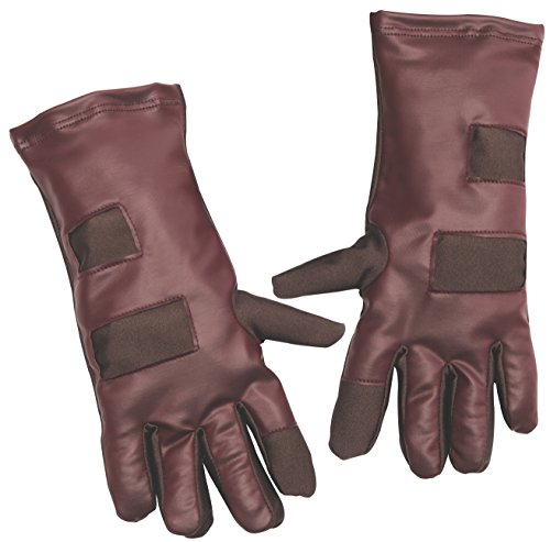 [Rubie's Guardians of the Galaxy Star-Lord Child Size Costume Gloves] (Marvel Super Villains Costumes)