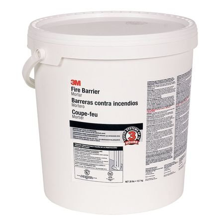 Fire Barrier Mortar, 5 gal, Off-White by 3M (Image #1)