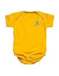 Infant: Star Trek- Command Uniform Infant Onesie Size 6 Mos