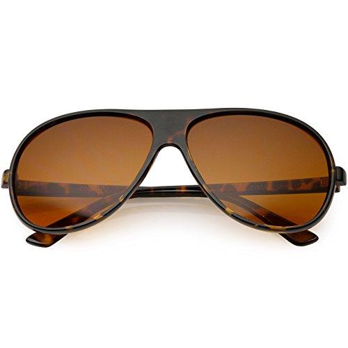 sunglassLA - Hangover Costume Aviator Sunglasses Blue Blocking Lens 64mm -