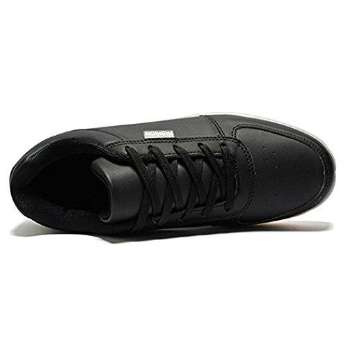Accendono Scarpe Le LED Nero con DoGeek Unisex Luci Sneakers Scarpe Luminosi Sportive Adulto wqxTg