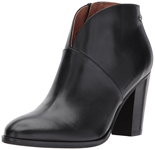 206 Collective Womens Everett Leather High Heel Ankle Bootie