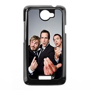 Celebrities Jack Black Ben Stiller And Robert Downey Junior HTC One X Cell Phone Case Black phone component AU_595403