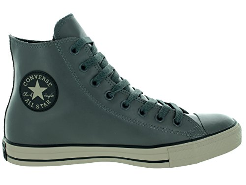 Converse Unisex All Star Läder Hi Sneaker Grå