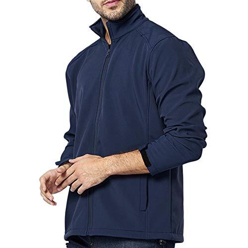 [해외]ykaritianna 남성 다운 & 누름 대체 솔리드 쉘 재킷 야외 부드러운 의상 실행 낚시 캠핑 탑 포켓 / YKARITIANNA Men`s Down & Down Alternative Solid Shells Jackets Outdoor Soft Outfits Running Fishing Camping Tops with Pockets